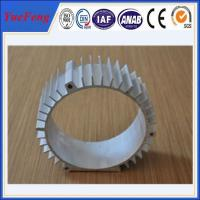 Quality extruded aluminum profiles for motor housing china supplier for sale