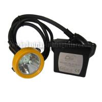 China ATEX approved KL5LM ( C ) led cord miners cap lamp , Rechargeable Battery on sale