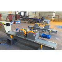 Buy cheap 40T Conventional Tank Turning Rolls , Bolt Adjustment Pipe Welding Rollers from wholesalers
