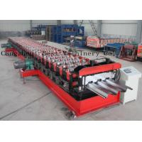 Quality Customized Metal Steel Deck Sheet Roll Forming Making Machine Supplier for sale