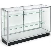 Quality Horizontal Wide Cell Phone Display Cabinet With Recessed Kickplate for sale
