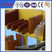 Quality OEM aluminum profiles for heat sink manufacturer, aluminum company supply types of profile for sale