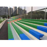 Sports Events Fixed Aluminum Grandstands Spectator 203MM Riser Height For Outdoors