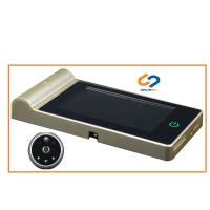 China WIFI Door Peephole Viewer Camera / Digital Peephole Door Viewer With Motion Sensor on sale