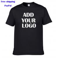 China Air express free shipping  100% American cotton short sleeves custom printing t shirt on sale