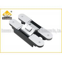 Buy 180 Degree 160*28*28*32mm Zinc alloy Adjustable Invisible Door Hinges at wholesale prices