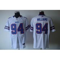 Quality Nike NFL Buffalo Bills 94 Williams white Elite Jersey for sale