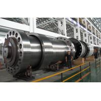 Quality EN10228 Precision Heavy Steel Forgings Shaft , Unfinished Hydropower Spindle for sale