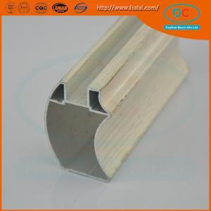 Quality Customed  Matt aluminum wardrobe profile, wardrobe profile,SS brush aluminum profile for sale