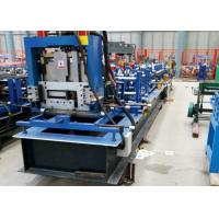 Quality Z Purlin Roll Forming Machine , C Channel Roll Forming Machine BV / SGS for sale