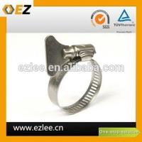 China dryer vent hose clamp on sale