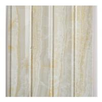 Marble Design Waterproof Wood Paneling For Bathrooms Four Wave Three Groove