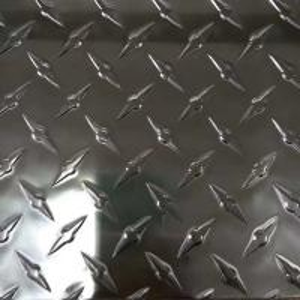 Quality Aluminium Diamond Checker Plate / Anti Slip Checker Plate Customized Length for sale
