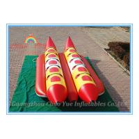China Floating Inflatable Fishing Boat, Inflatable Banana Boat for Water Park on sale