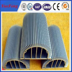 Quality HOT! anodized aluminium factory produce aluminum extrusion profiles for leds heatsink for sale