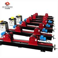Quality 22000lbs Conventional Welding Rotator ,10 Ton Lead Screw Pipe Stands Welding Rollers for sale
