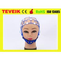 Quality New Separating 20 Leads EEG Cap without electrodes, Medical EEG Hat for Hospital for sale