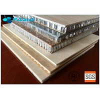 China Light Weight High Strength Long Duration Stone Honeycomb Panel For Wall Decoration on sale