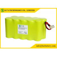 China F7000mah NICD 12V Nickel Cadmium Battery Pack For LED Torch / Mining Light on sale