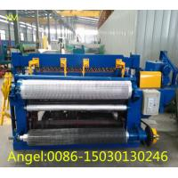 Quality 2m width full Automatic Welded Wire Roll Mesh Welding Machine Manufacture for sale
