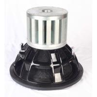 China 5000W RMS Spl Tweeter , Competition Car Subwoofers Dual 1 Ohm Impedance on sale