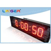 Quality IP65 Waterproof Led Countdown Clock Days Hours Minutes Seconds Iron Cabinet for sale
