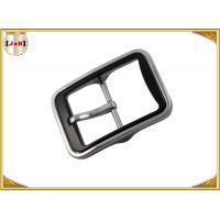 Quality Various Color Plated Metal Heel Bar Belt Buckle With Pin For Leather Belts for sale
