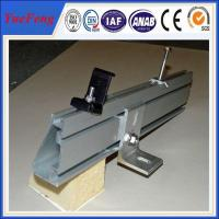 Quality OEM achievable solar mounting structure and solar panel mounting rail for sale for sale