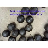 Buy cheap High Chrome Cr 10% Cast Iron Steeel Balls for mining grinding from wholesalers
