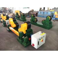 Quality Self Adjustment Welding Pipe Rollers 10t Capacity Tank Pipe Turning Rollers for sale