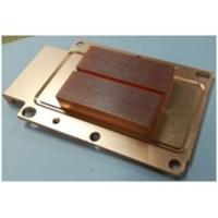 Quality Customized Brass Heat Sink Skived Fin Heat Sink Copper Cooler For Automotive for sale