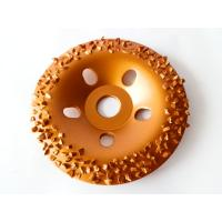 Quality Wood / Stone Grinding Diamond Tungsten Carbide Abrasive Disc 5 Inch OEM / ODM for sale