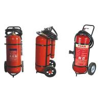 Buy cheap Easy Installation DCP Trolley Fire Extinguisher 25kg For Industry OEM / ODM from wholesalers