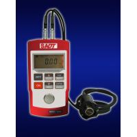 Quality Portable Ultrasonic Thickness Gauge 0.8mm - 225mm Pulse Echo With Dual Probe for sale