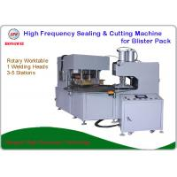 Quality Dual Head Rotary HF Sealing and Cutting Machine for Tools and Household Appliance Clamshell/Blister Pack for sale