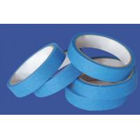 High Performance Crepe Paper Blue Masking Tape For Humid Wall And Floor for sale