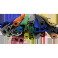 Quality Multi Color Silicone Extruded Rubber Profiles Chemically Extremely Stable for sale