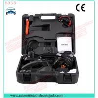 Buy black electric hydraulic jack with impact wrench and inflating pump at wholesale prices