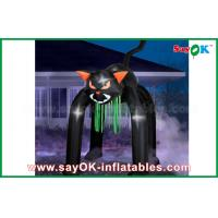 Quality Event Inflatable Holiday Decorations Halloween Cat WIth Oxford Material for sale