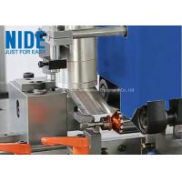 Quality Fully Auto Armature Rotor Turning Machine Plc Control In Blue / Customized Color for sale