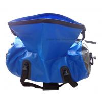 Quality Silk Screen Printing Waterproof Gear Bag , 70L Duffel Bag For Travelling Rafting for sale