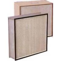 Quality F9 Aluminum high efficiency pleated hepa filter, air cleaner filters with Large dust holding capacity for sale