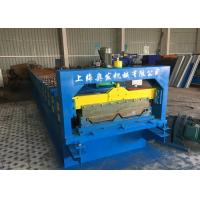Quality Self Lock Roof Panel Roll Forming Machine , Corrugated Roofing Sheets Making Machines for sale