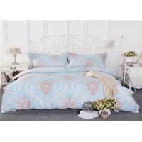 China Health Cotton Home Bed Linen With Invisible Zippers Double - Sided Blanching on sale