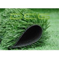 Quality C Shaped Synthetic Fake Grass Carpet , Outdoor Soccer Turf 50 Mm Pile Height for sale