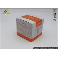 Buy cheap Cosmetic Skincare Oil Paper Box Package , Eye Cream Packaging Box from wholesalers