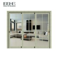 Quality Residential Grey Aluminium Front Door , Commercial Aluminum Windows Water Resistant for sale