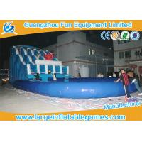 Quality Octopus Commercial Inflatable Slide With Pool , Water Slide Obstacle Course For Rent for sale