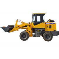 China Stone Bucket Articulating Front End Loader , 930 Compact Tractor Loader With Joystick on sale