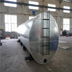 China Steel Plate Bitumen Heating Tank Blue Color 8mm Thickness For Asphalt Plant on sale